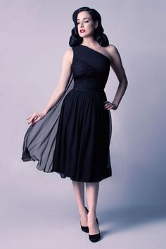 The Dita Von Teese Collection -great dress for Tango