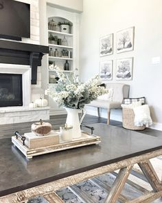 Genial 37 Coffee Table Decorating Ideas To Get Your Living Room In Shape | Home  SWEET Home | Pinterest | Coffee, Living Rooms And Room.