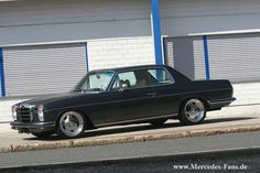 Mercedes Benz W114 280C Coupe on AMG Aero I Wheels 05