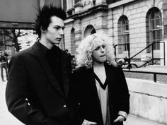 Sid Vicious with Nancy Spungen