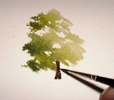 Tutorial on how to paint trees..