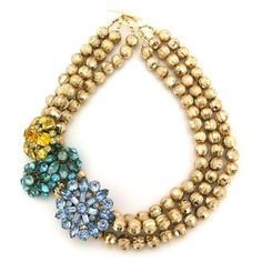 Elva Fields - Beau Soleil necklace $318. I'm an Elva collector & this is next on my list. LOVE!