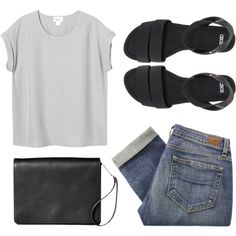 Outfit on a lazy day | loose top, boyfriend jeans, and sandals | Top solto de bom corte, skinny e rasteira | Minimalista para uma saída casual