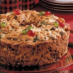 Holiday Fruitcake, this is the easiest and delicious fruitcake ever. You should try and I'm sure you will famous because of this recipe!!