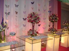 festa 15 anos festa decoracao 15 anos lilas rosa pink borboleta