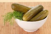 Lacto-fermented Kosher Dill Pickles