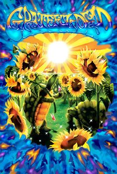 A fantastic Grateful Dead poster! Harvest some sunflowers at Terrapin Station to brighten your walls. Check out the rest of our amazing selection of Grateful Dead posters! Need Poster Mounts. Grateful Dead Wallpaper, Grateful Dead Poster, All Poster, Poster Prints, Art Prints, Hippie Style, Dead And Company, Terrapin, Sunflower Print