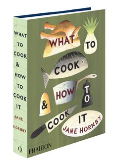 what to cook | #book #cover #design