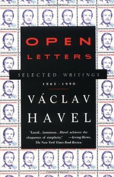 Open Letters: Vaclav Pb Famous Czech Dissident's Selected Writings) in Books, Nonfiction Used Books, Books To Read, World Literature, Open Letter, Historical Fiction, Story Time, Writing A Book, Reading Lists, Nonfiction