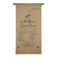 Great River Organic Milling, Organic Seven Grain Bread Flour Blend, 25-Pound Package