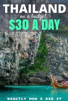 The Cost of Travel in Thailand: Southeast Asia has become a hotspot for travelers looking for adventure on a budget and I show you how you can do it on $30 per day! #budgettravelfamily