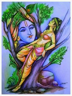 Lord Krishna Images, Radha Krishna Pictures, Radha Krishna Photo, Shree Krishna, Krishna Art, Radhe Krishna, Radha Krishna Sketch, Hanuman, Durga