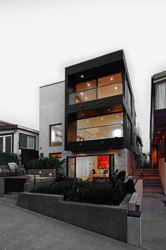 Casa jovem e moderna. #arquitetura #casamiderna