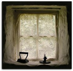 AN IRISH WINDOW (BY MAEWYNIA, VIA FLICKR).