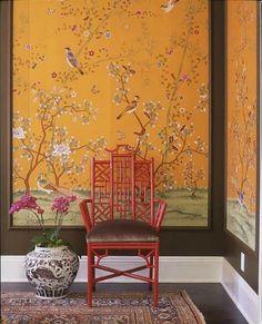 wallpaper as large art