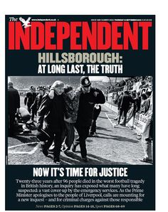 Independent Newspaper 13th Sept 2012