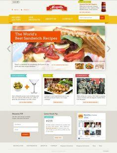 #Food #webdesign 83oranges.com http://toopixel.ch