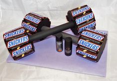 Gifts for Men - Snickers Dumbbells, Gift, Father& Day, JGA - A Design . - Views - Gifts for Men Snickers Dumbbells Gift Father& Day JGA A design - Birthday Present For Brother, Birthday Presents For Men, Happy Birthday Cards, Diy Birthday, Birthday Ideas, Birthday Present Boyfriend, Man Presents, Christmas Birthday, Men Birthday Gifts