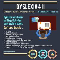 dyslexia 411 #13