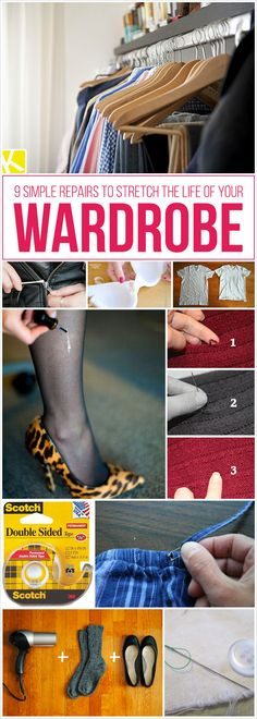 9 Simple Repairs to Stretch the Life of Your Wardrobe
