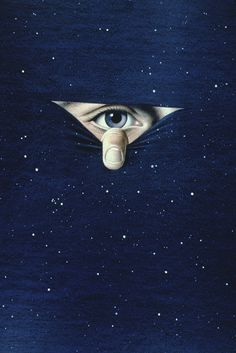 lucideye: artwork originally published in Guccione's science and science-fiction magazine OMNI.