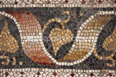 Bizans mozaik büyük Saray Mozaik Müzesi, istanbul, Türkiye