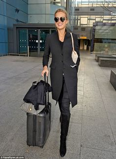 Petra has been dating Haiti's Prime Minister Laurent Lamothe, since May 2013 Airport Attire, Airport Chic, Airport Style, Petra Nemcova, Heart Shaped Sunglasses, Model Street Style, Beautiful Blouses, Timeless Fashion, My Wardrobe