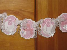 Its A Girl White Lace Baby Shower Baby Shower by RubysPlaceInTime, $26.50