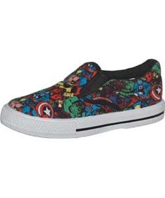 SIZES 8-12 Avengers Boys' Canvas Shoes were £12.99 NOW £7.79 at Argos