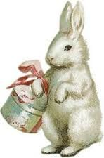 Afbeeldingsresultaat voor vintage pictures of rabbits Easter Art, Easter Crafts, Easter Bunny, Easter Decor, Happy Easter, Beatrix Potter, Images Victoriennes, Bunny Images, Betty Boop