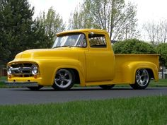 Ford F-100 Ford pick up. A++++ Love the ties rim, how it sits, the look and how professional quality workmanship.