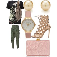 Fall Date Night by lexy13430 on Polyvore featuring polyvore, fashion, style, Faith Connexion, Gianvito Rossi, Edie Parker, Tiffany & Co., Olivia Burton and Gucci