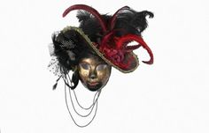 China Gorgeous Feather Party Mask , Plastic Sexy Face Mask For Female supplier