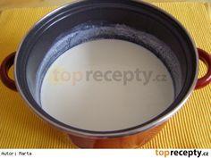 Domácí jogurt Iron Pan, Lidl, Garden Pots, Tray, Tableware, Garden Planters, Dinnerware, Garden Container, Tablewares