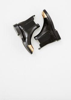Marni Chelsea Ankle Boot (Coal)