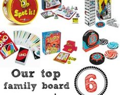 Our Top 6 Favorite Family Board Games