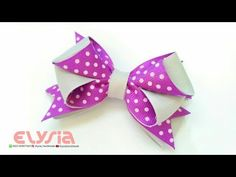 How To Make : Ruffle Ribbon Bow With Grosgrain Ribbon Ribbon Hair Bows, Diy Hair Bows, Diy Bow, Diy Ribbon, Ribbon Work, Grosgrain Ribbon, Making Hair Bows, Bow Making, Hair Bow Supplies