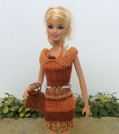 (6) Name: 'Knitting : Barbie Doll Dress II