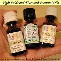 Fight Colds and Flus with Essential Oils @ Common Sense Homesteading
