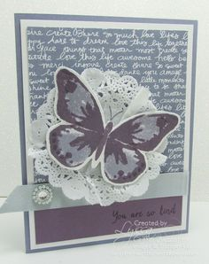 Made a version of this design. Card from Lyssa Griffin Zwolanek @ Song of My Heart Stampers.