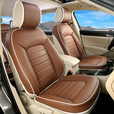 Shen sound Passat , Volvo , Land Rover 3D Four Seasons General car seat upholstery leather car seat cushion cover