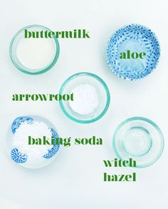 Small Measures: Homemade Sunburn Soothers #diy