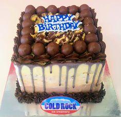 Cold Rock Ice Creamery Birthday Cakes