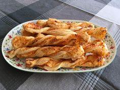 Käsestangen aus Blätterteig 1