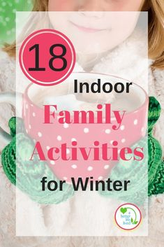 Winter weather making it too difficult to play outside? I hate having to search for ideas for indoor play. Here are 18 indoor family activities for winter including creative, active and warm & snuggly ideas! Perfect for some wonderful family time. Indoor Family Activities, Autumn Activities For Kids, Toddler Activities, Time Activities, Family Games, Things To Do At Home, Winter Kids, Family Traditions, Kids And Parenting