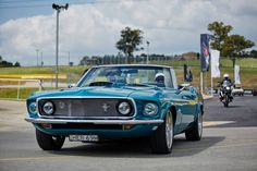 Visitors to MotorWorld Sydney will get the chance to test drive a range of cars including the classic Mustang convertible. Isn't she a beauty?