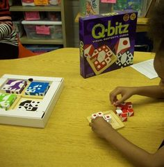 Qbitz..great for fine motor, visual motor