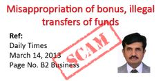 Illegal Funds Transfer