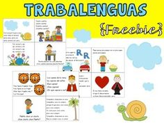 Tongue twisters are a fun way to help students practice their pronunciation in Spanish. In this set you will find 12 trabalenguas for you to use in class with your students!Enjoy,Carolina***Special thanks to Whimsy-Clipsfor the awesome clipart***