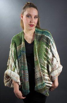 Saori Woven Jacket by Nangellini